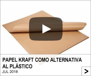 Papel kraft como alternativa al plástico