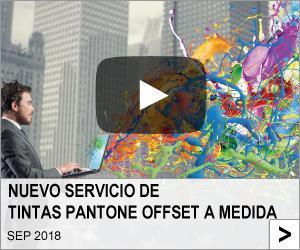 NUEVO SERVICIO DE TINTAS PANTONE OFFSET A MEDIDA