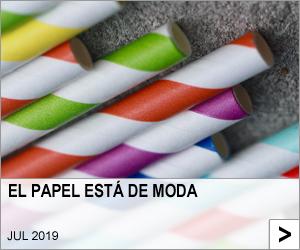 EL PAPEL ESTÁ DE MODA