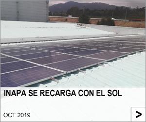INAPA SE RECARGA CON EL SOL