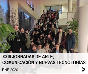 XXIII Jornadas de arte, comunicación y nuevas tecnologías