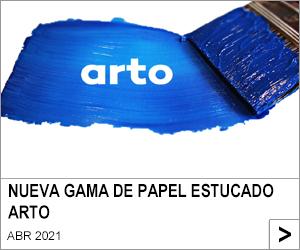 NUEVA GAMA DE PAPEL ESTUCADO ARTO