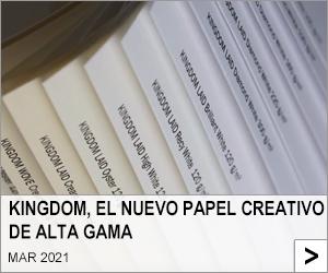 KINGDOM, EL NUEVO PAPEL CREATIVO DE ALTA GAMA