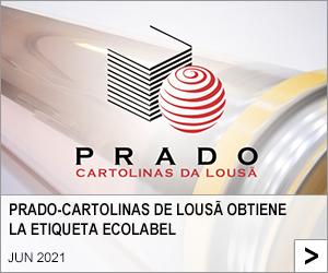 PRADO-CARTOLINAS DE LOUSÃ OBTIENE LA ETIQUETA ECOLABEL